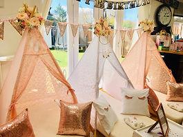 Wedding Teepee Corners