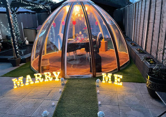 Marriage Proposal Dome