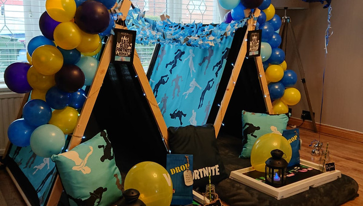 Fortnite Teepee Party