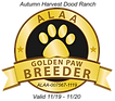Autumn Harvest GOLDEN PAW LOGO 2019.png