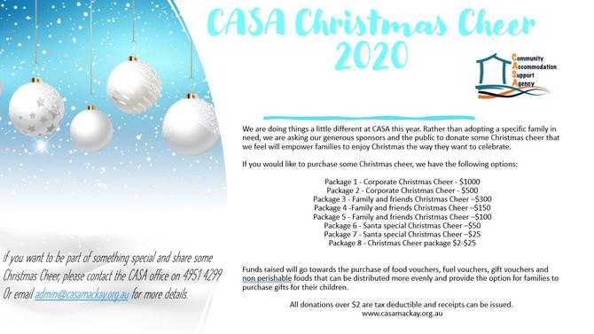 CASA Christmas Cheer 2020