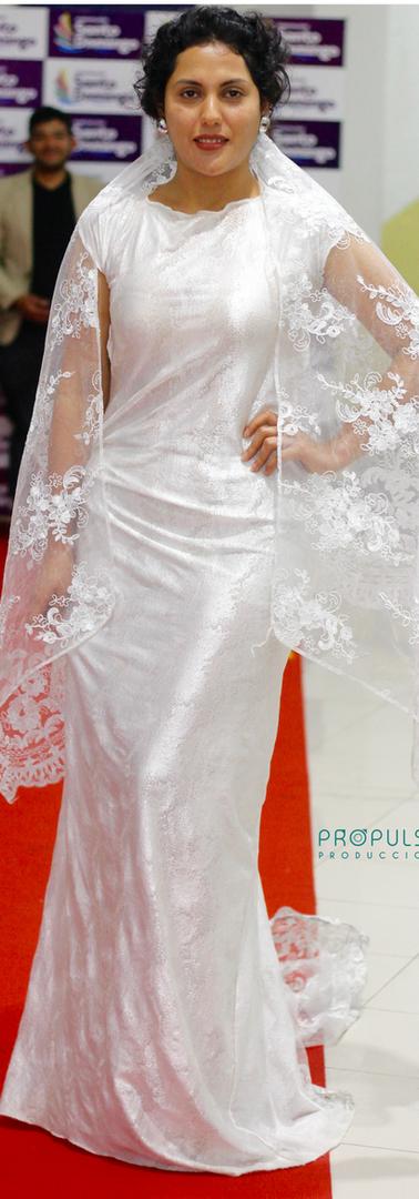 Modelo Melissa Lugar Certamen Propulsar Moda Sto Domingo 2019 Salón de la Ciudad Fotógrafo Javier Almeida @representamen_