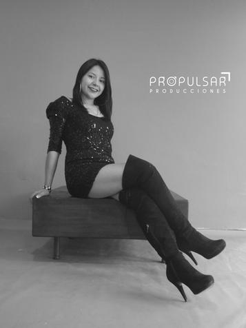 Modelo Leslie Lugar @propulsarproducciones Fotógrafo Edwin Sánchez