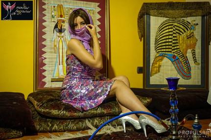 Modelo Heidy Lugar Atelier del Diseñador Kevin Donnerbauer Modas Pegasus @modaspegasus