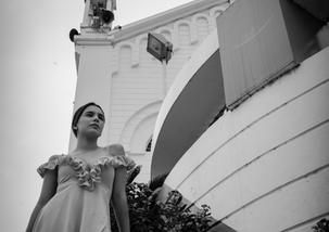 Modelo Nicole Lugar Catedral de Montec