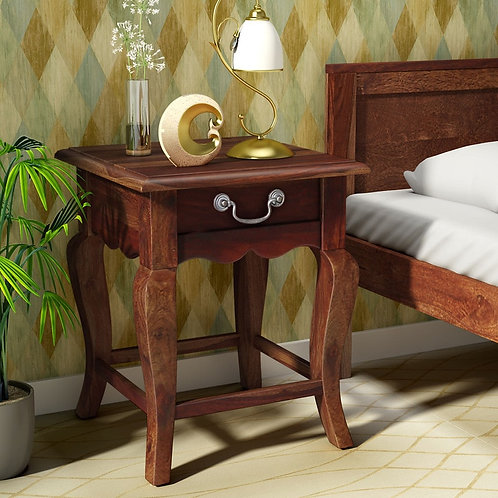 Bedside Wooden Polished Furnished PAC