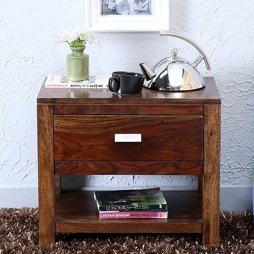 Wooden Bedside Polished Handcrafted PAC