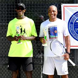 Men's 65 & Over doubles Champions:  Stingley, Tony / Washington, Riley