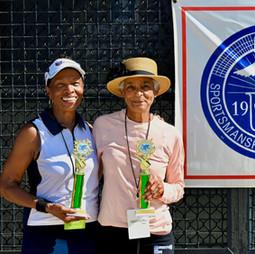 Women70s doubles champions:  Taylor, Laverne / Ferguson, Lavenia