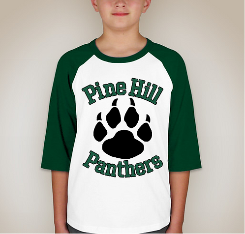 Pine Hill 3/4 Sleeved T-Shirts