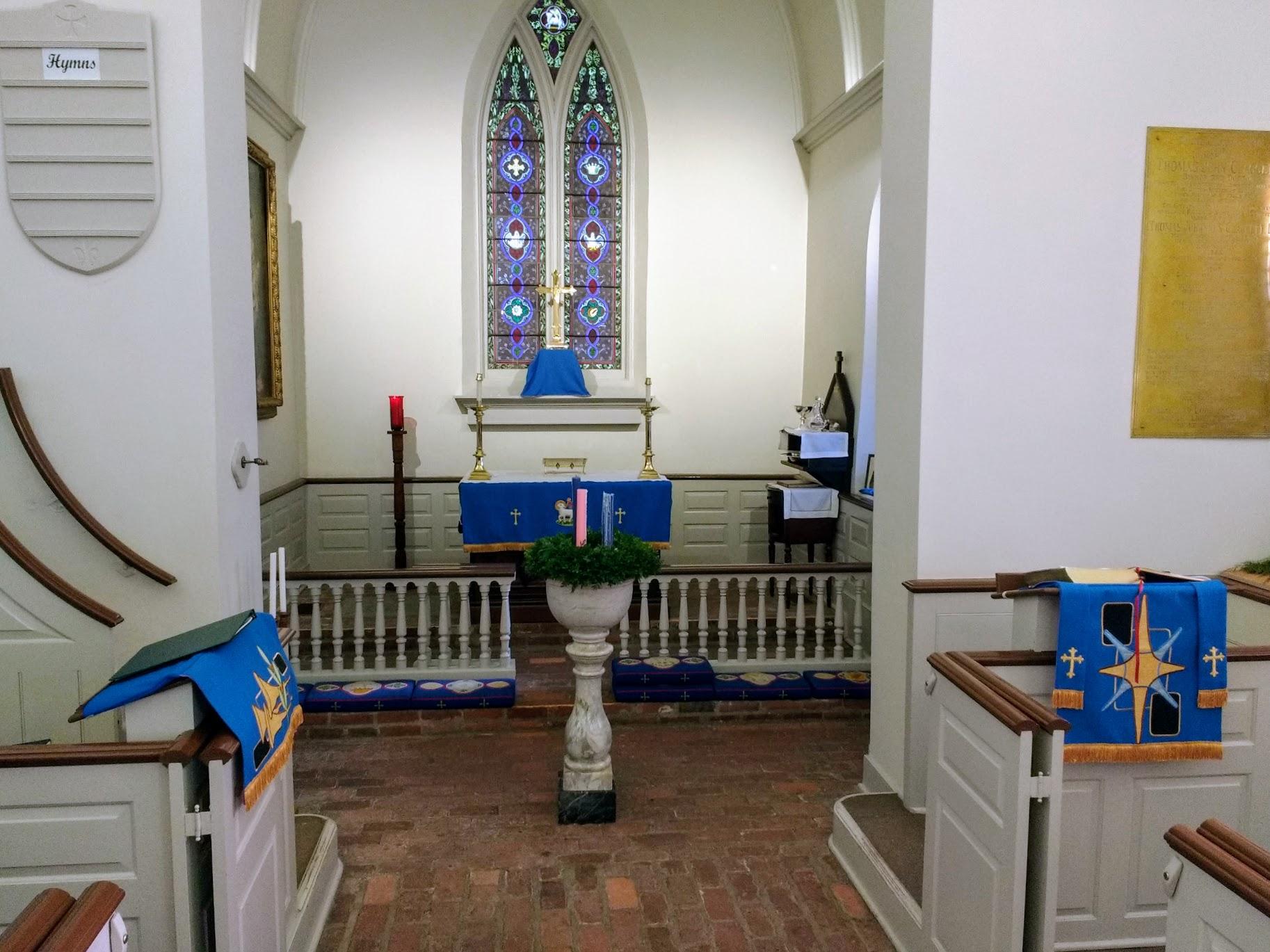 Inside - Altar