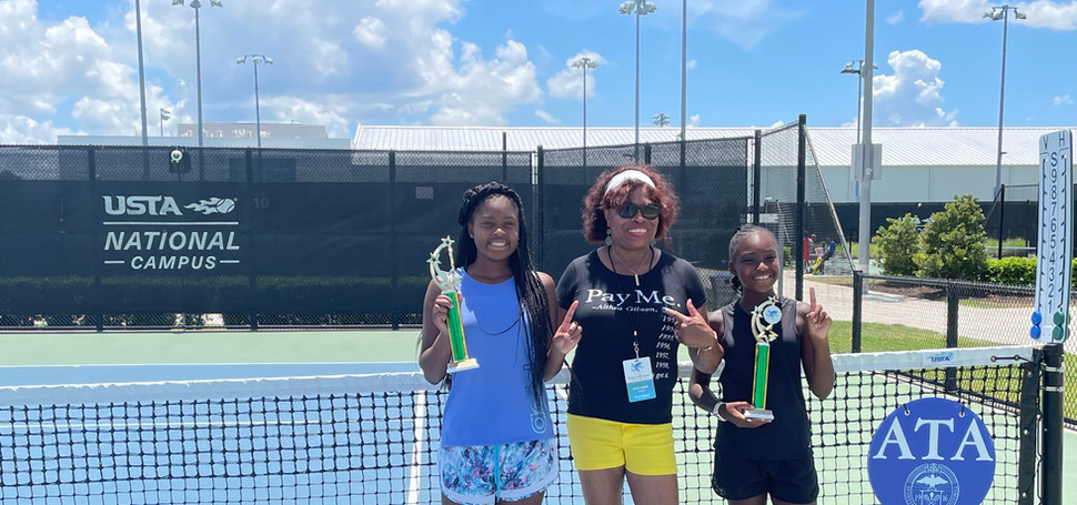 Girls 12U Doubles, Champions:   Hannah Crutchfield/ Morgan Henderson