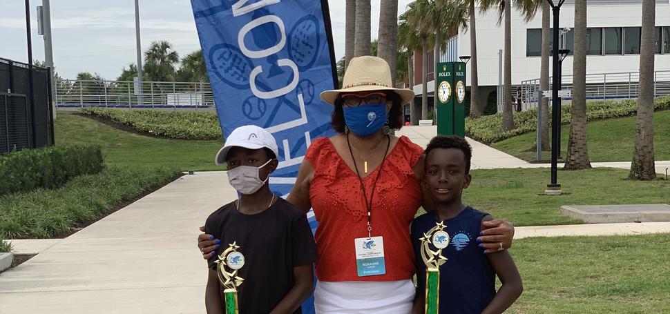 Boys 12U: John Henry Mills, Champion & Omar Mongerie, Finalist