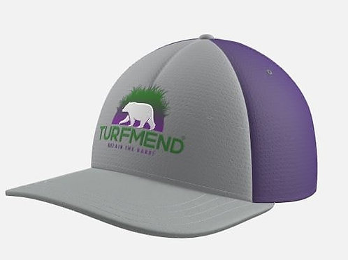 Purple and Steel TurfMend Hat