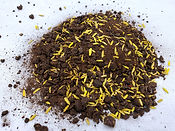 Granulated compost formulation