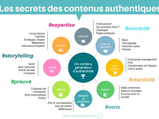 Les secrets des contenus authentiques