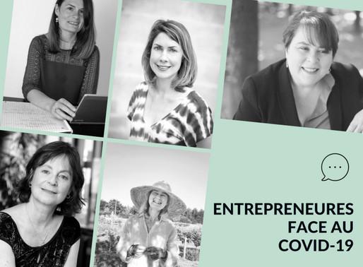 Entrepreneures face au COVID-19 : innovation et solutions pour rebondir après la crise