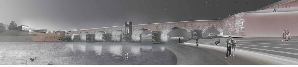 Römerbrücke Wettbewerb I HILLINGER ARCHITEKTEN