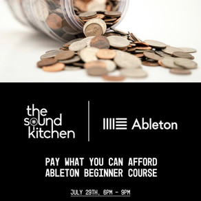 'Pay What You Can Afford' Music Production Course Initiative