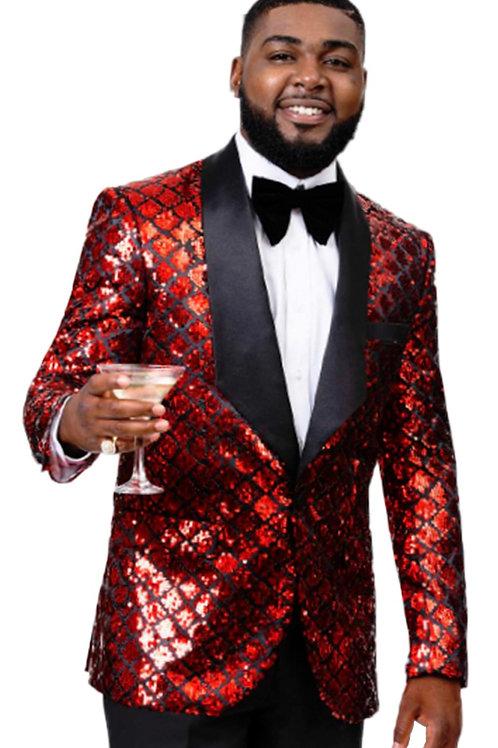 Sequin Men Jacket