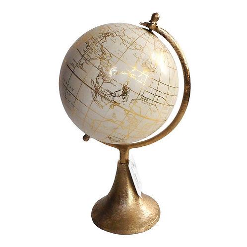 Decorative Golden Globe