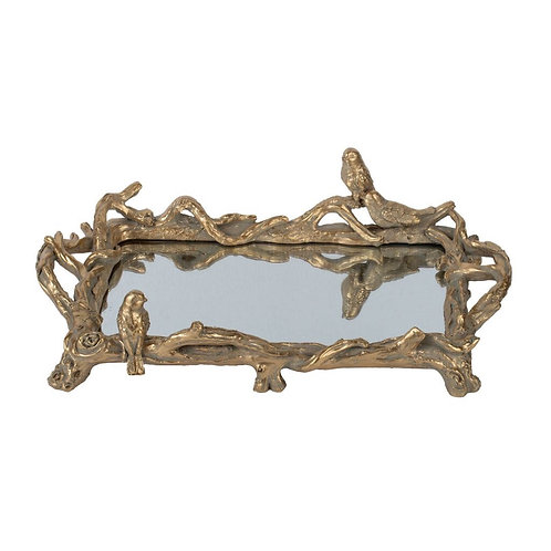 Elegant Mirrored Tray