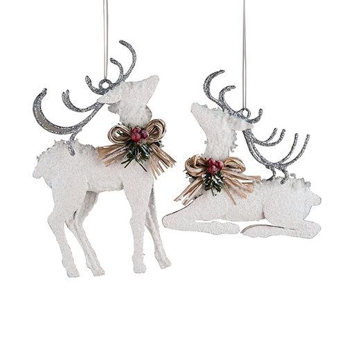 Winter White Deer Om, A/2