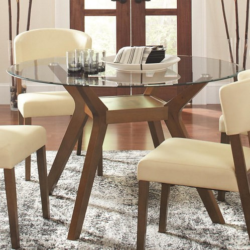 Paxton 5 Piece Round Dining Table Set with Side Chairs