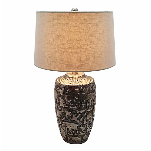 Embossed Table Lamp