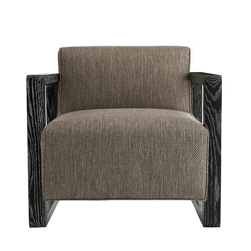 Duran Chair Pebble Tweed Black Cerused