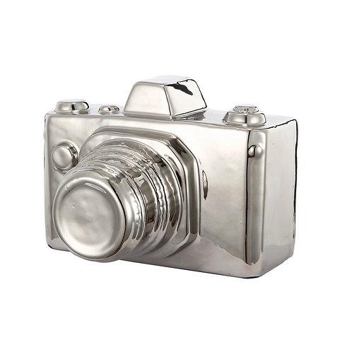 Silver Ceramic Nostalgia Camera