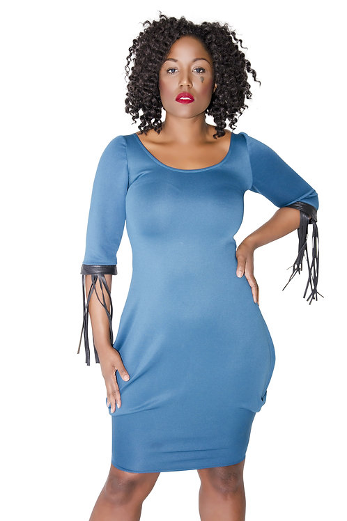Smooth Fringe Dress