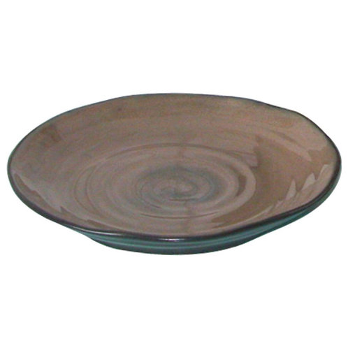 Plate, Brown