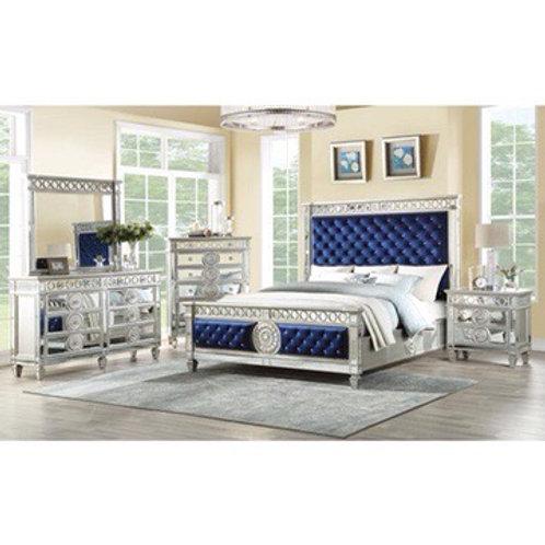 Crystal Tufted Bedroom Set