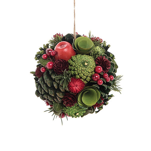 Apple Berry Ornament