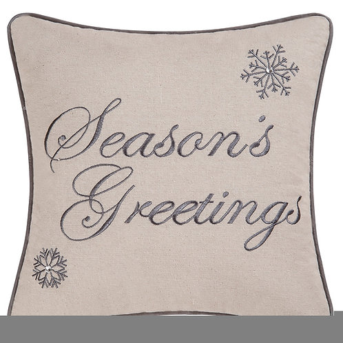Season's Greetings Pillow