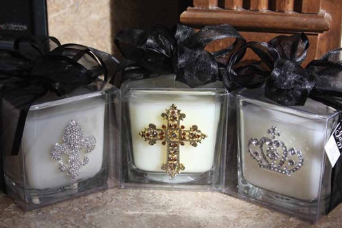Bling Embellished Candles