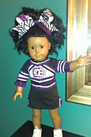 American Girl Doll Cheer Outfit