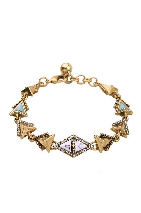 The Olivia Antique Gold Bracelet