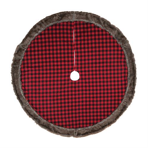 Buffalo Check Tree Skirt