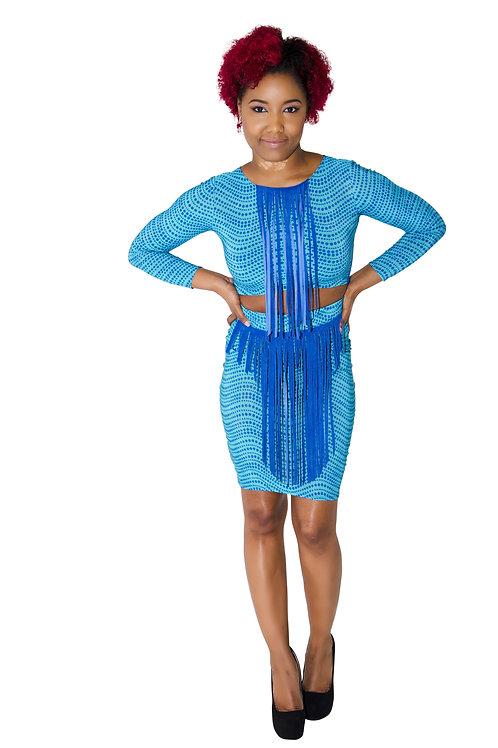 Southern Charm Fringe Dress