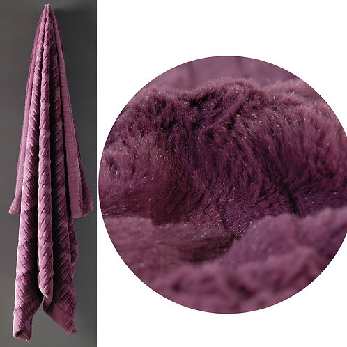 Chenille Cozy Oversized Throw Blanket