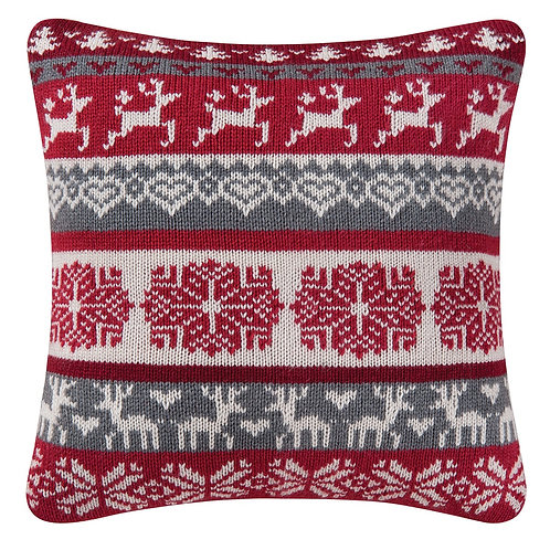 Prancing Reindeer Pillow
