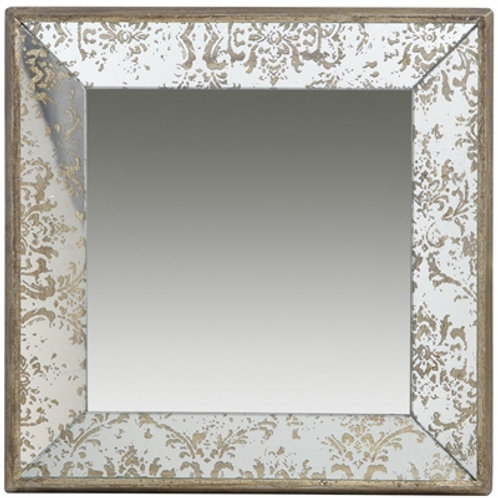 Dorthea Square Hanging Tray / Mirror
