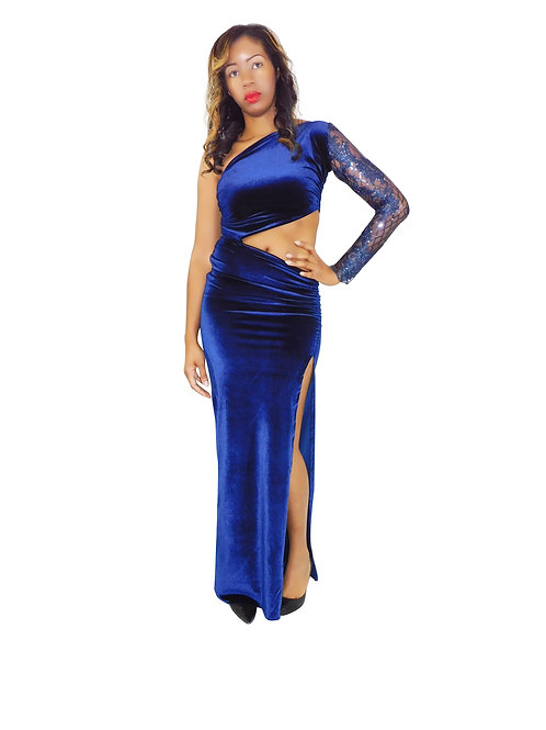 Bouquet of Elegance Evening Gown