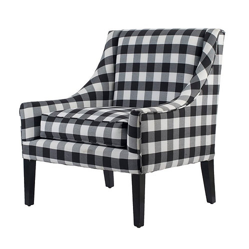 Plaid Arm Chair