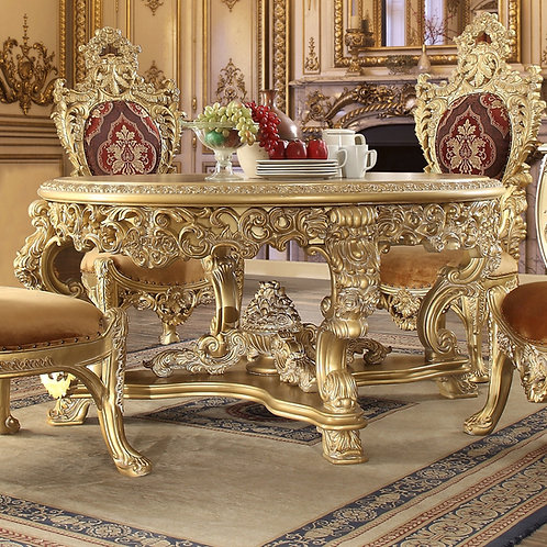 Rococo 5pc Dining Table Set