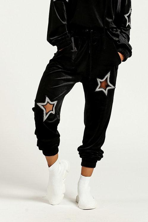 Velvet Star Sweat Pants