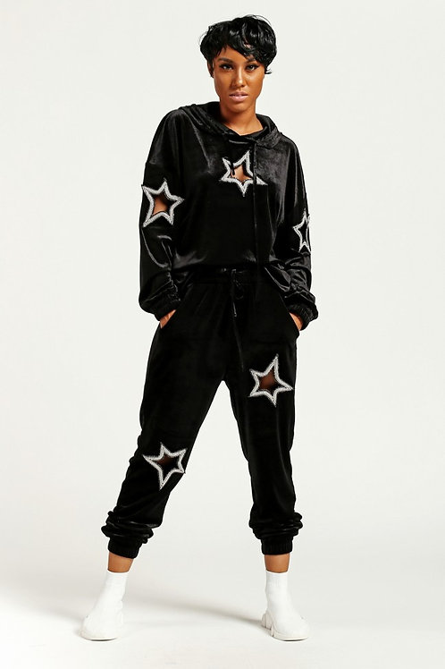 Velvet Star Jogging Set