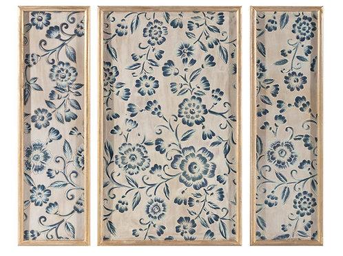 Avignon Wooden Wall Panels - Set of 3